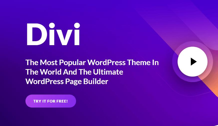 Cinq raisons pour lesquelles j'aime le thème Divi pour les sites WordPress